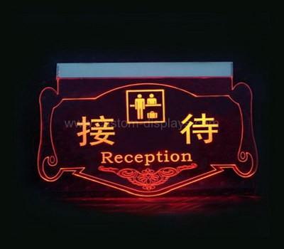 Custom led acrylic sign