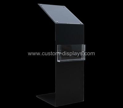 Floor standing poster holder