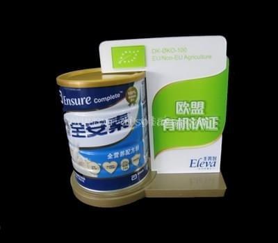 Powdered milk display stand