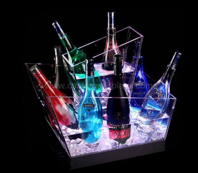 Led light ice bucket