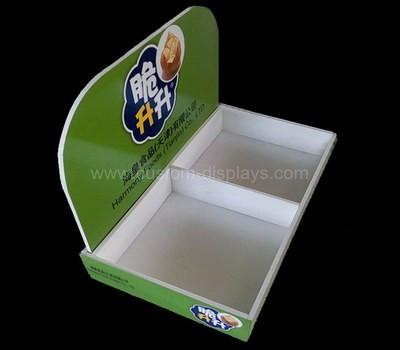 Dry food display tray