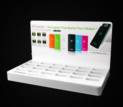 Acrylic counter display stands