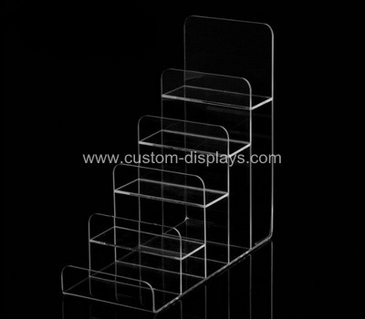 Acrylic tiered display stands