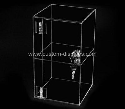 Locking acrylic display case