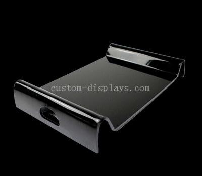 Black serving tray