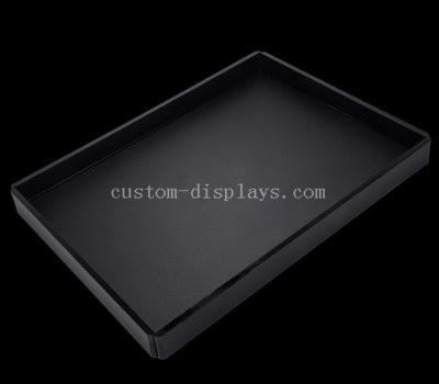 Black acrylic tray