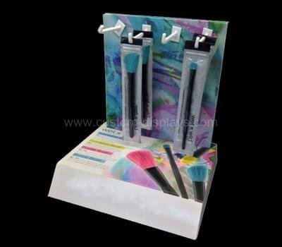 Makeup brush display
