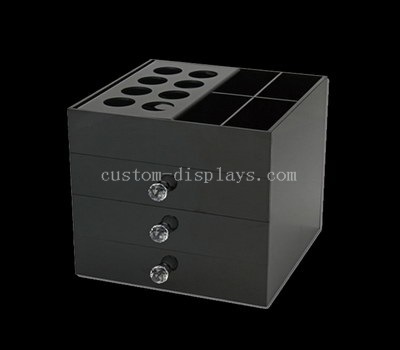 Black acrylic drawer box