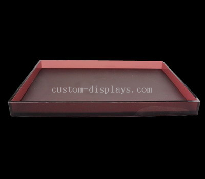 Acrylic display tray
