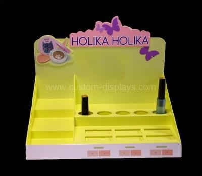 Cosmetic product acrylic display stands