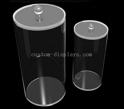 Acrylic cylinder container