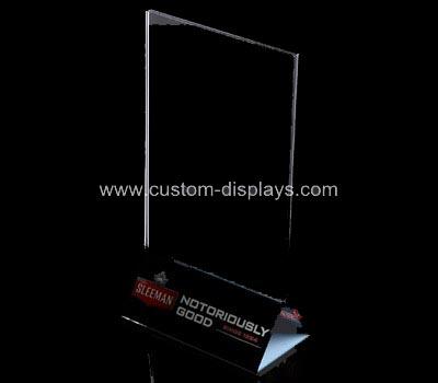 Countertop sign holder