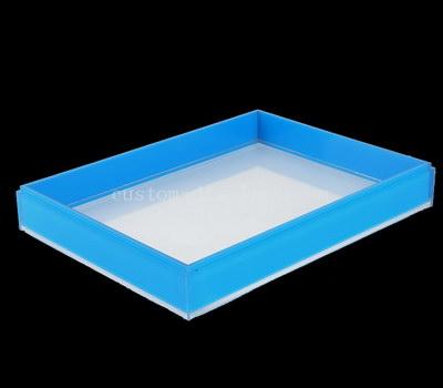 Personalized acrylic serving tray