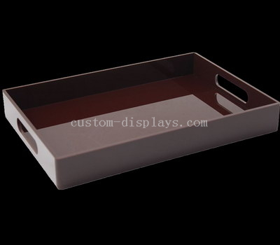 Perspex serving trays