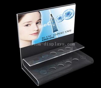 Acrylic cosmetic counter display