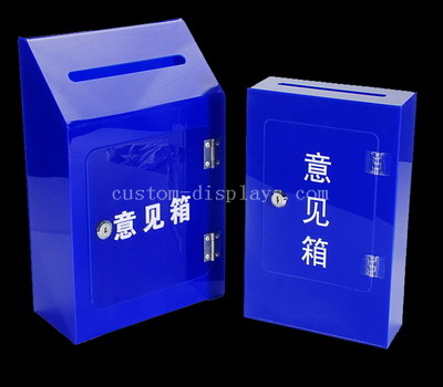 Suggestion box with lock