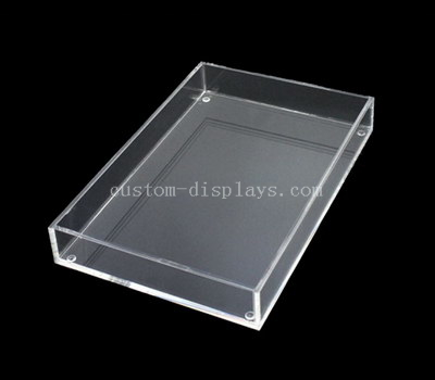 Clear acrylic display trays