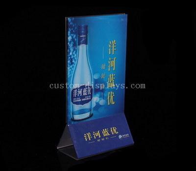 Acrylic sign holders wholesale