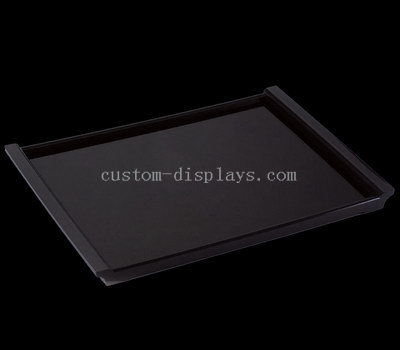 Black acrylic serving tray