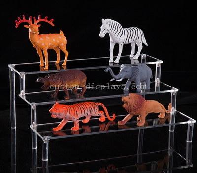 Clear acrylic risers