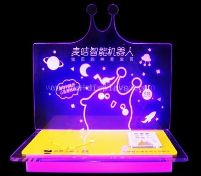 Plexiglass led display