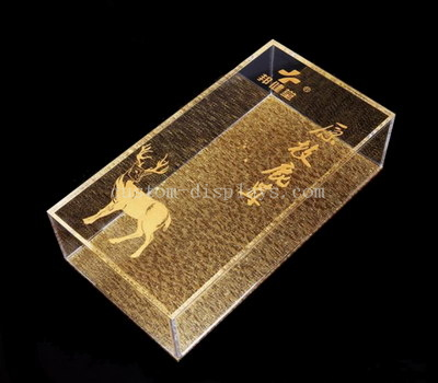 Acrylic packaging box