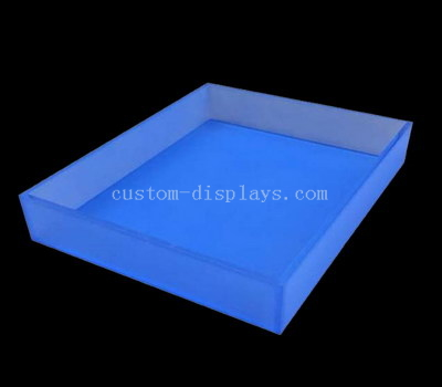 Blue acrylic tray
