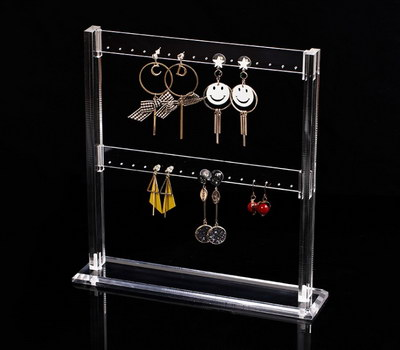 Earring holder rack