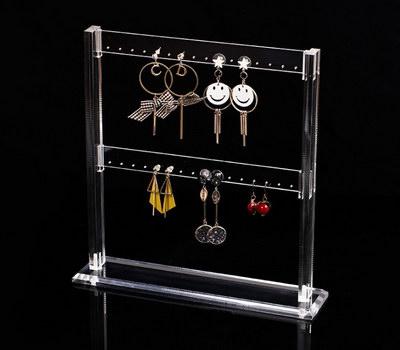 Earring holder rack