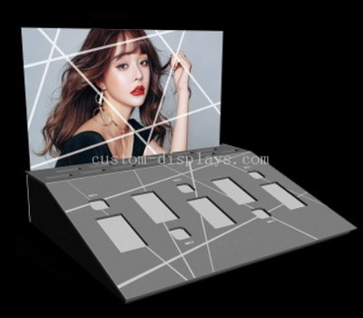 Retail cosmetic display stand