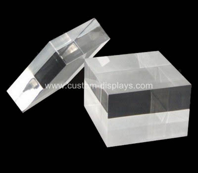 Perspex block