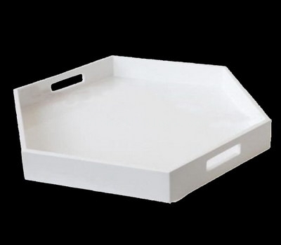 Polygonal tray