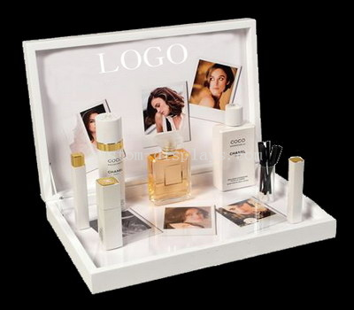 Acrylic display for cosmetics