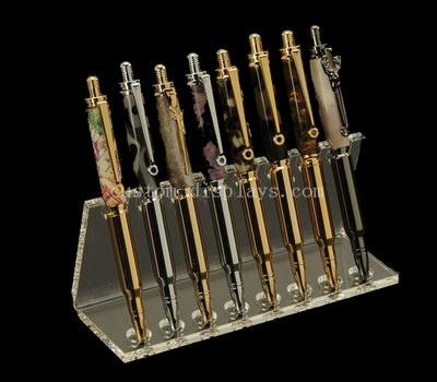 Perspex pen holder