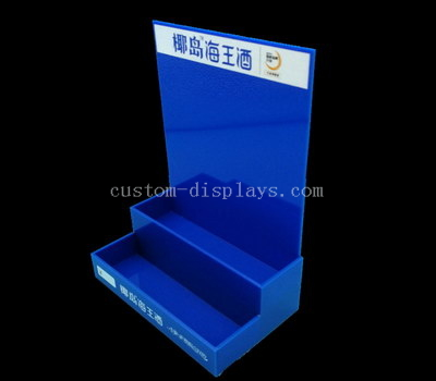 Alcohol acrylic display stand
