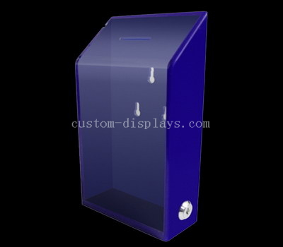 CAB-139-1 Acrylic donation box with lock