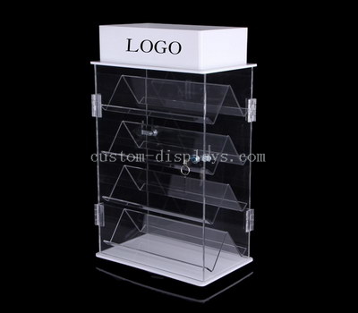 LED light acrylic display case