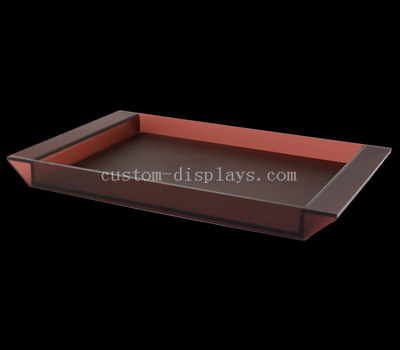 Personalized acrylic tray