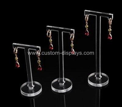 Acrylic earring rack