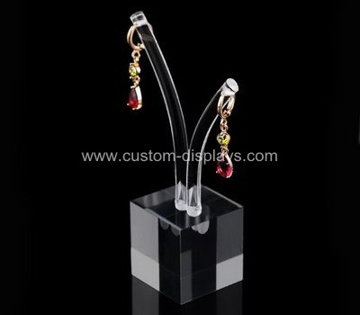 Perspex earring display