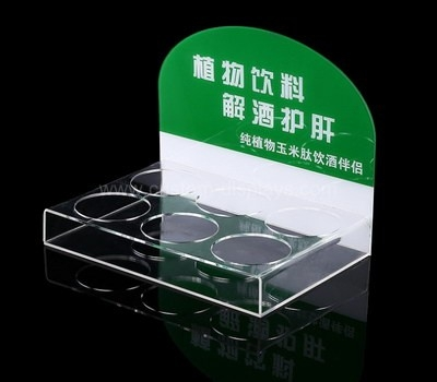 Acrylic liquor display holder