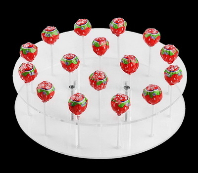 Acrylic lollipop display stand