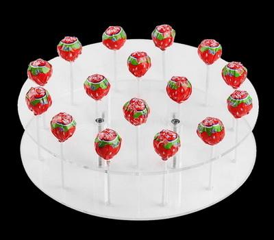 Acrylic lollipop display stand