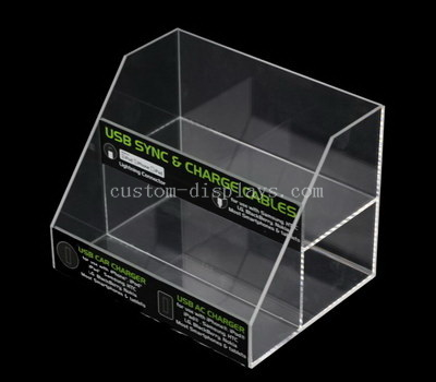 Perspex box shelves