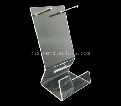 Hair straightener acrylic display stand