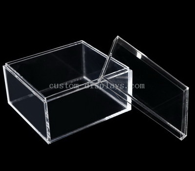 CAB-151-1 Clear acrylic box with lid