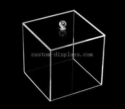 Clear perspex boxes with lids