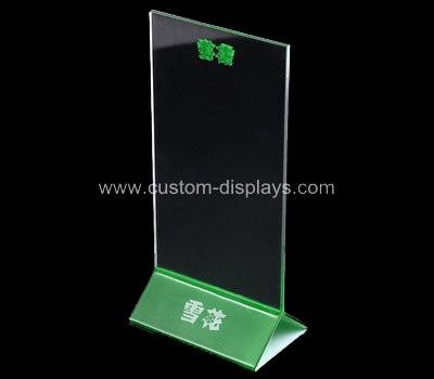 Tabletop sign holder