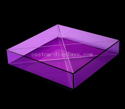 Colored acrylic box