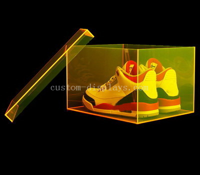 CAB-156-1 Custom acrylic shoe box